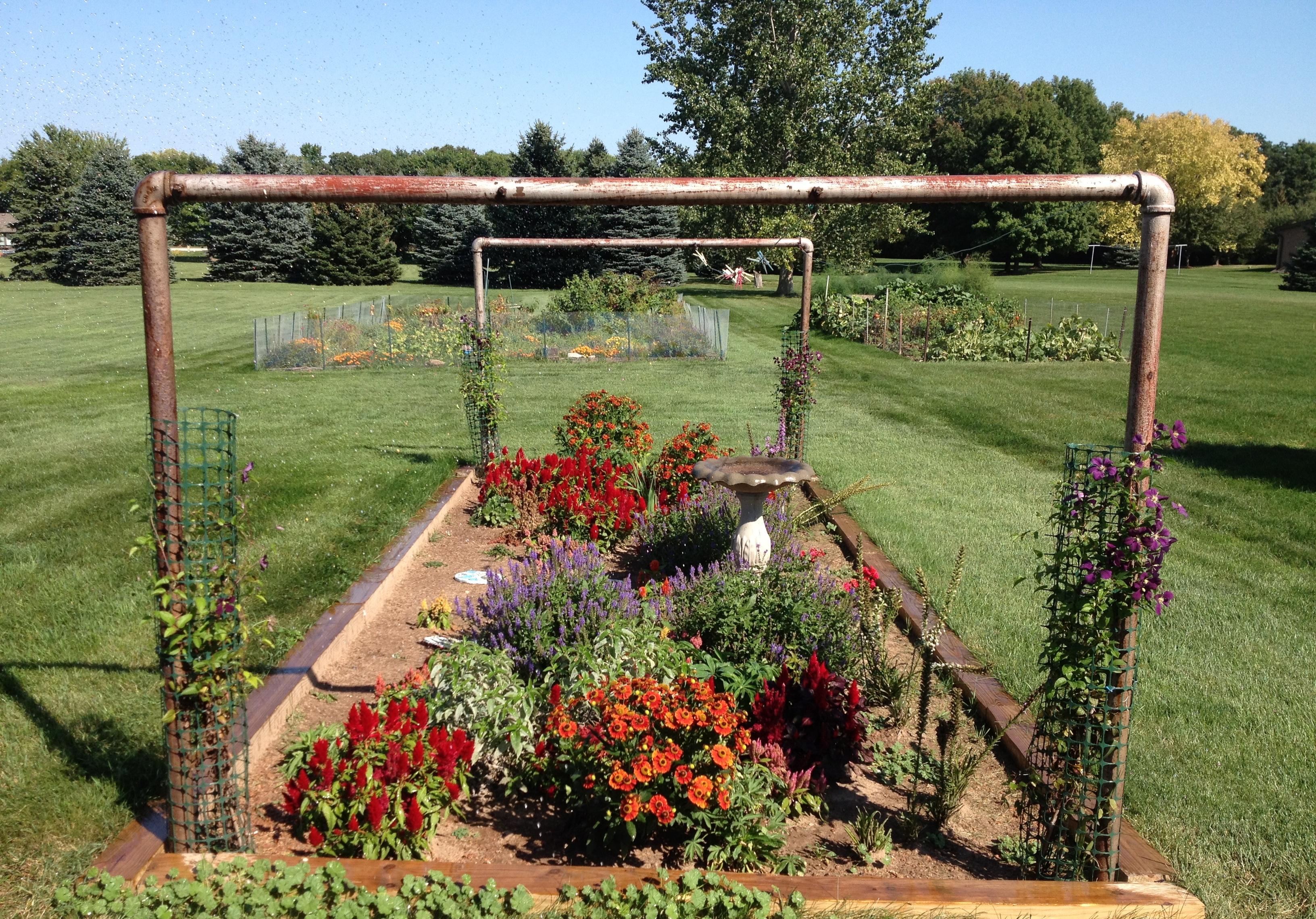 Who has the perfect backyard me me me garden booyah for The perfect vegetable garden